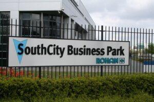 Entrance to South City Business Park