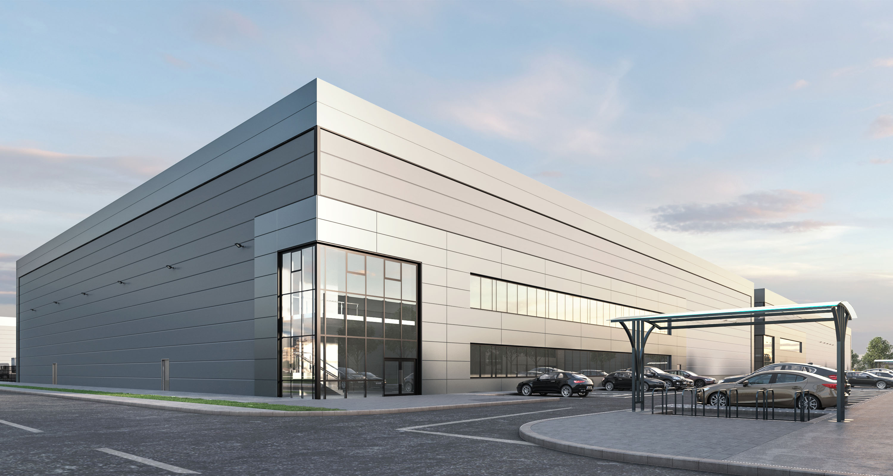 Planning Granted for 120,000 SQ.FT.